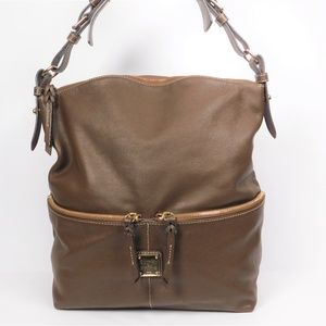Dooney And Bourke Dillen Leather Hobo Handbag